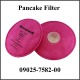 Filter, Respirator, Pancake Cartridge, 2/pk