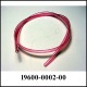 Poly Tube, 4mm, Red, 95 dur (Ft)