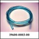 Poly Tube, 6mm, Blue, 95 dur (Ft)