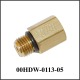 "SAE-4 (M) to 1/8"" NPT-F, Brass"