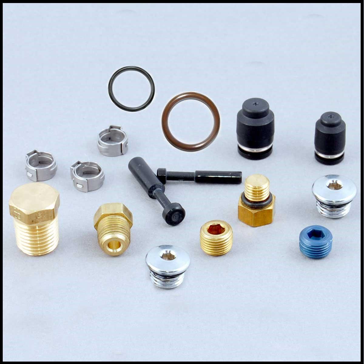 Clamps, O-Rings, Caps & Plugs