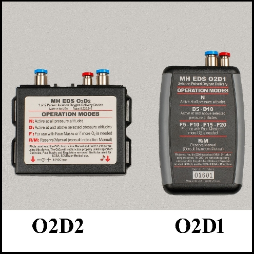 Refurbished EDS O2D2 and O2D1 Units