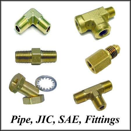 Pipe-JIC-SAE Fittings